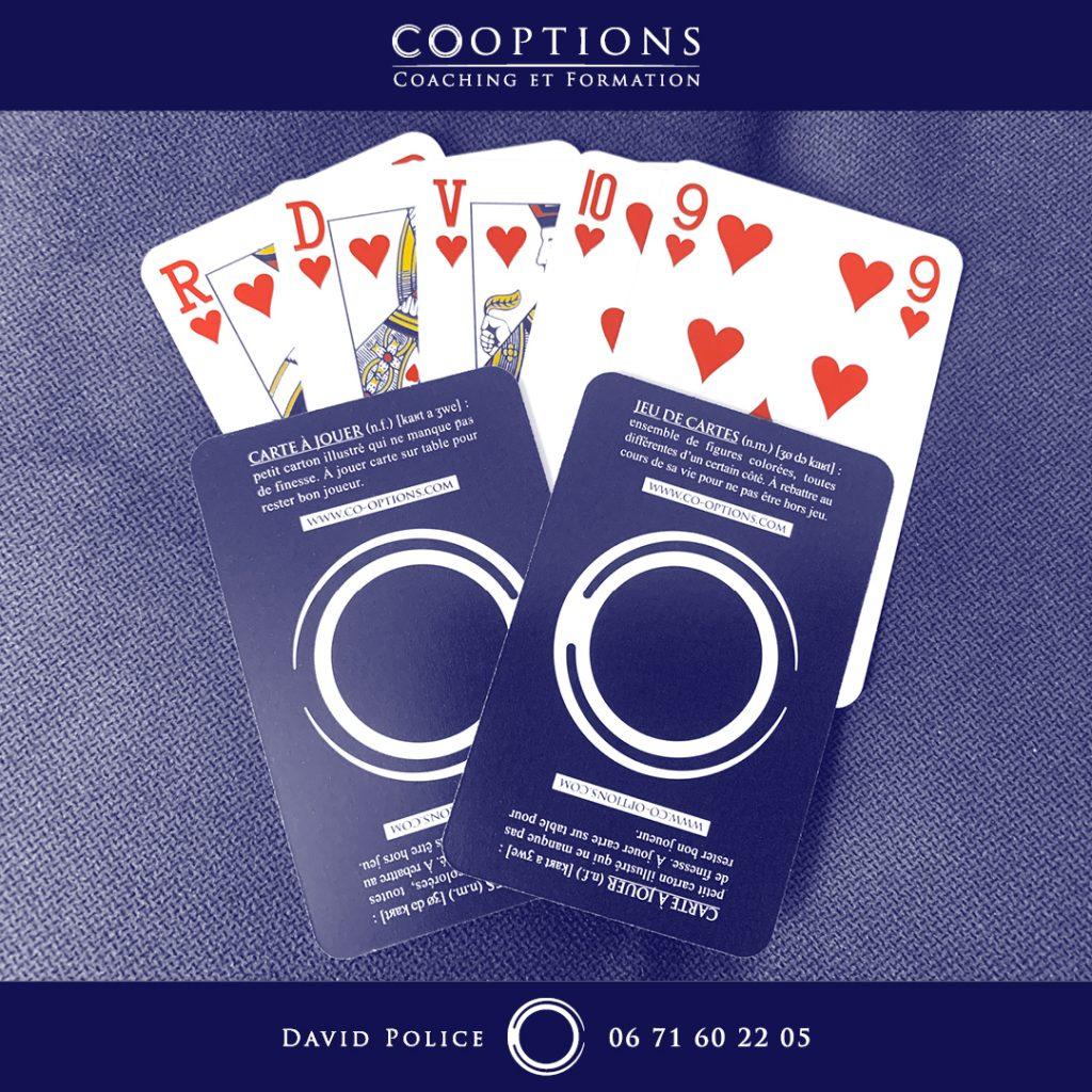 Carte à jouer / jeu de cartes